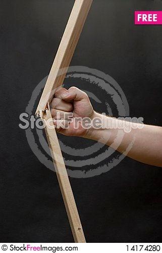 Free Fist Braking The Plank Stock Photo - 14174280