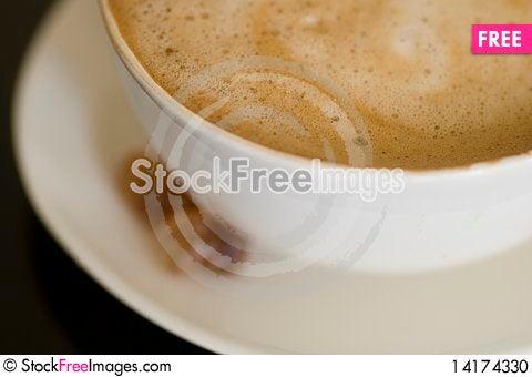 Free Cappuccino Close-up Stock Photo - 14174330