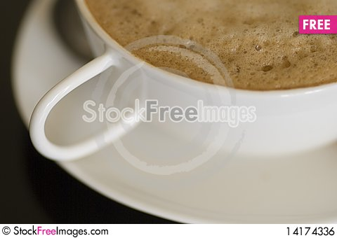 Free Cappuccino Close-up Royalty Free Stock Image - 14174336