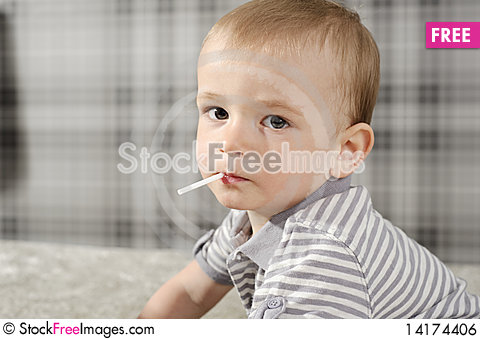 Free Boy With Lollipop Royalty Free Stock Image - 14174406