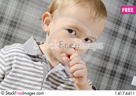 Free Boy With Lollipop Stock Image - 14174411