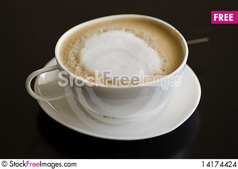 Free Cappuccino Close-up Stock Images - 14174424