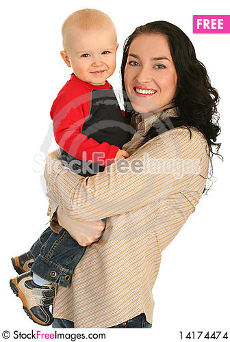 Free Happy Mother With Little Son Stock Images - 14174474
