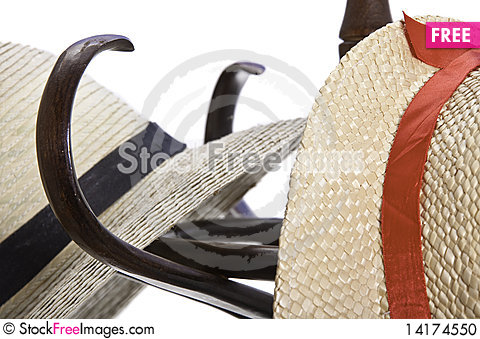 Free Two Hats On A Rack Stock Photo - 14174550
