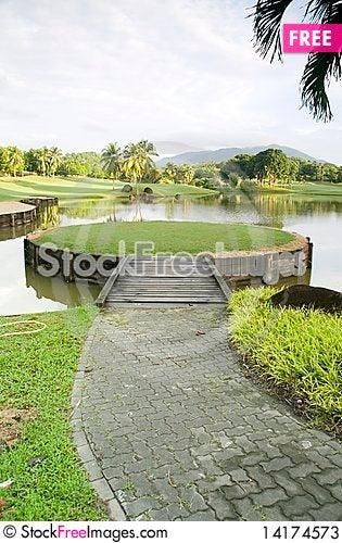 Free Tiny Man Made Island Stock Photos - 14174573