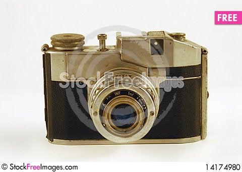 Free Old Camera Stock Photo - 14174980