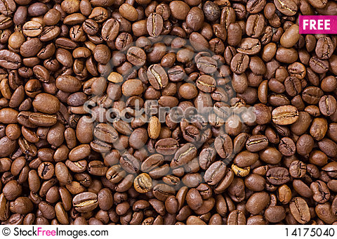 Free Roasted Coffee Beans Stock Photo - 14175040