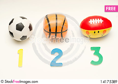 Free Football Basketball Rugby Royalty Free Stock Images - 14175389