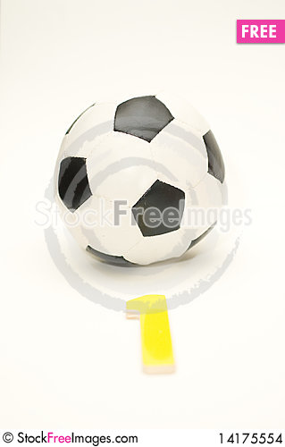 Free Football Is No. 1 Stock Images - 14175554