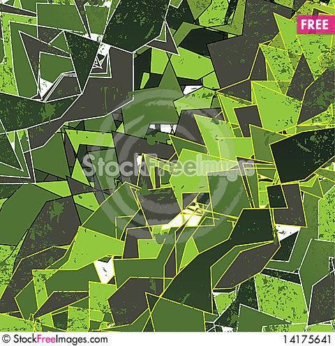 Free Grungy Geometric Background Illustration Stock Image - 14175641