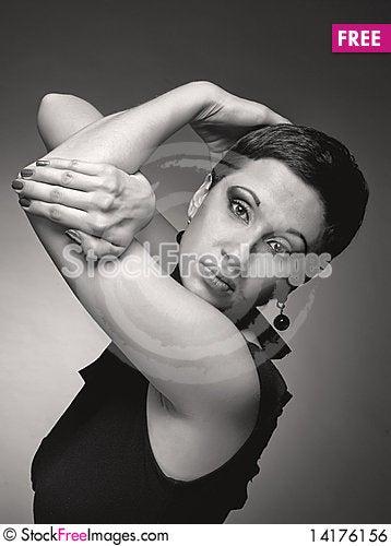 Free Sad Women Royalty Free Stock Image - 14176156