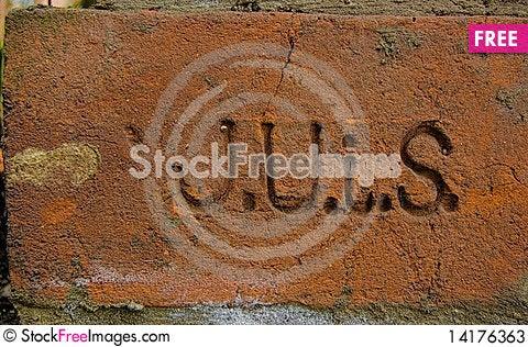 Free Sand Brick Stock Photos - 14176363