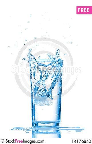 Free Water Splash Stock Photo - 14176840