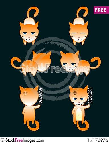 Free Cat Royalty Free Stock Image - 14176976