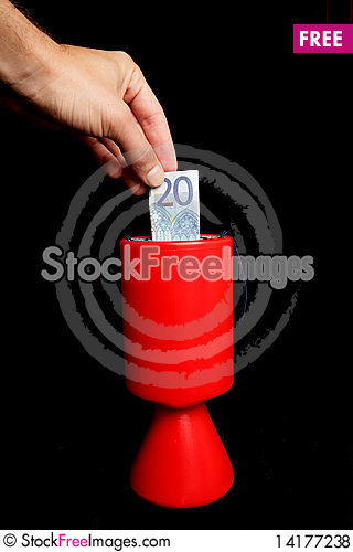 Free Charity Collection Royalty Free Stock Photos - 14177238