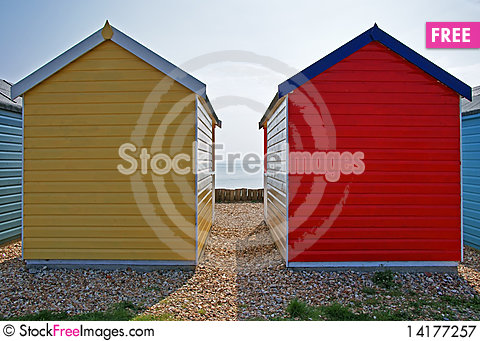 Free Beach Hut 3 Royalty Free Stock Photography - 14177257