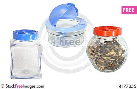 Free Different Jars Royalty Free Stock Photo - 14177355
