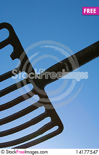Free Hay Fork Royalty Free Stock Photography - 14177547