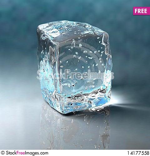 Free Ice Cube Royalty Free Stock Photos - 14177558