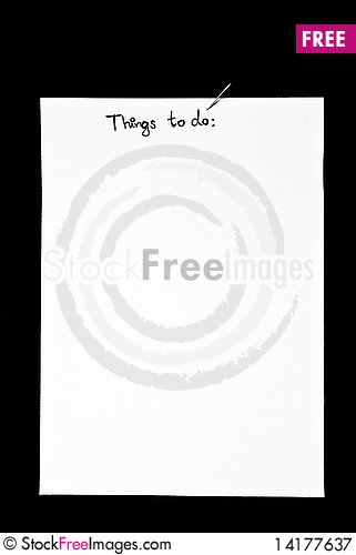 Free Things To Do Royalty Free Stock Photography - 14177637