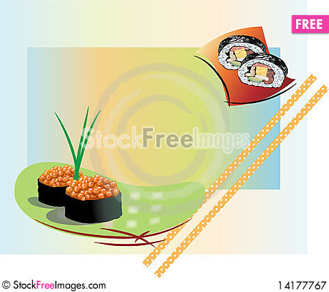 Free Small Sushi Royalty Free Stock Photography - 14177767