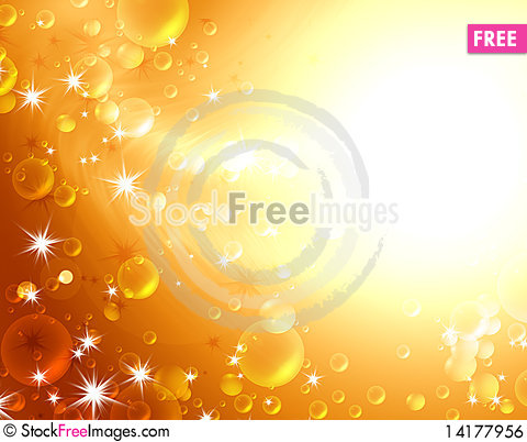 Free Festive Air Bubbles Royalty Free Stock Image - 14177956