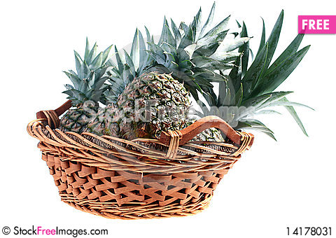 Free Crop Pineapples Stock Image - 14178031