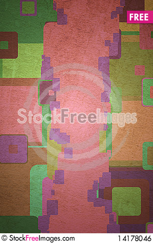 Free Squares On The Grunge Royalty Free Stock Image - 14178046