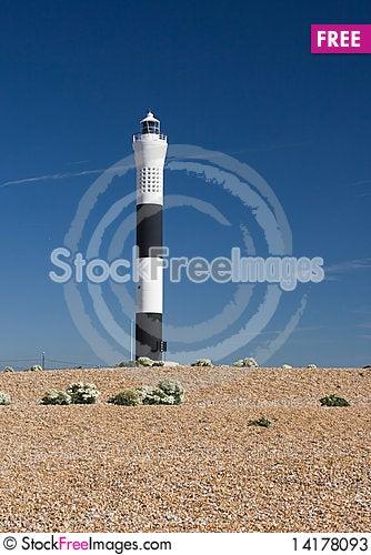 Free Lighthouse Against A Blue Sky Stock Photos - 14178093