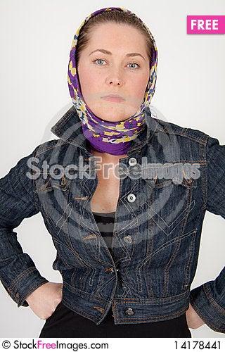 Free Lady With Jacket Stock Image - 14178441