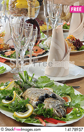 Free Prepared Fish Royalty Free Stock Photography - 14178957