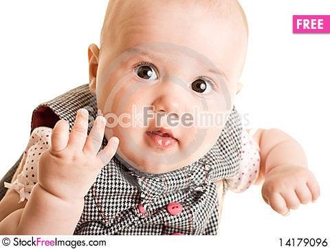 Free Beautiful Baby Royalty Free Stock Image - 14179096