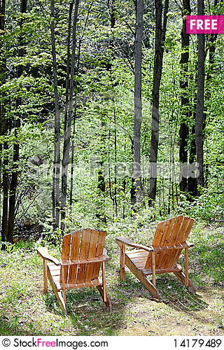 Free Adirondack Chairs Royalty Free Stock Images - 14179489