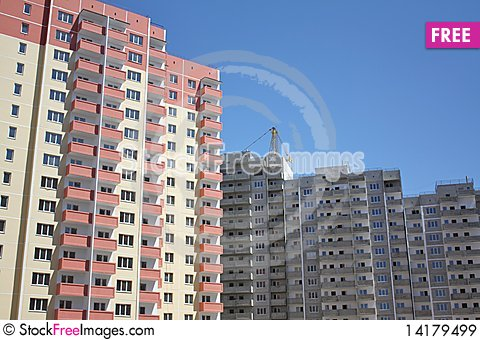 Free New Residential Complex Royalty Free Stock Images - 14179499