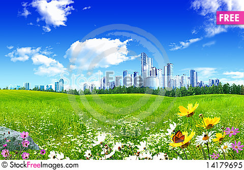 Free Beautiful Landscape Royalty Free Stock Photo - 14179695