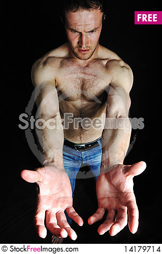 Free Strong Man Stock Images - 14179714