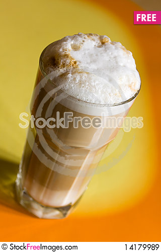 Free Latte Macchiato , A Close Up Shot Royalty Free Stock Images - 14179989