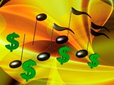 Free Financial Music Symphony Royalty Free Stock Photos - 14170088