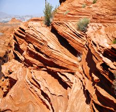 Free Classic Nature Of America - Mt In Glen Canyon Stock Photography - 14170152