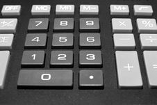 Free Calculator Buttons Stock Photography - 14170732