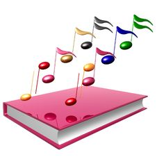 Colorful Music Notes Icon
