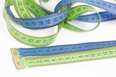 Free Measuring Tape Royalty Free Stock Image - 14171426