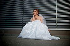 Free Lonely Bride Stock Photo - 14171570