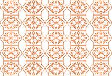 Free Retro Seamless Flower Pattern Stock Images - 14172924