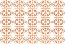Retro Seamless Flower Pattern Stock Images