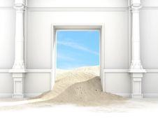 Free Desert Portal Stock Images - 14174464