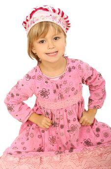 Little Charming Girl Stock Photos