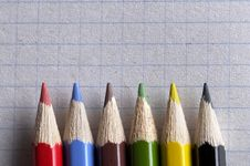 Free Colorful Pencils Stock Images - 14175294