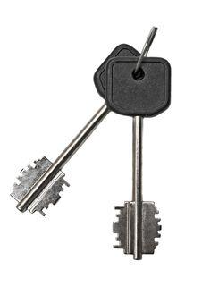 Free Two Silver Keys Stock Photo - 14175930