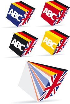 Free England And Germany Button Royalty Free Stock Images - 14177039